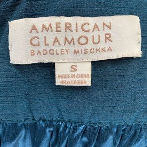 Badgley Mischka Tops - Badgley Mischka American Glamour Chiffon Top